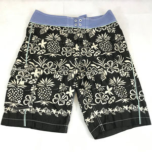 TOMMY BAHAMA RELAX BLACK SWIM SHORTS